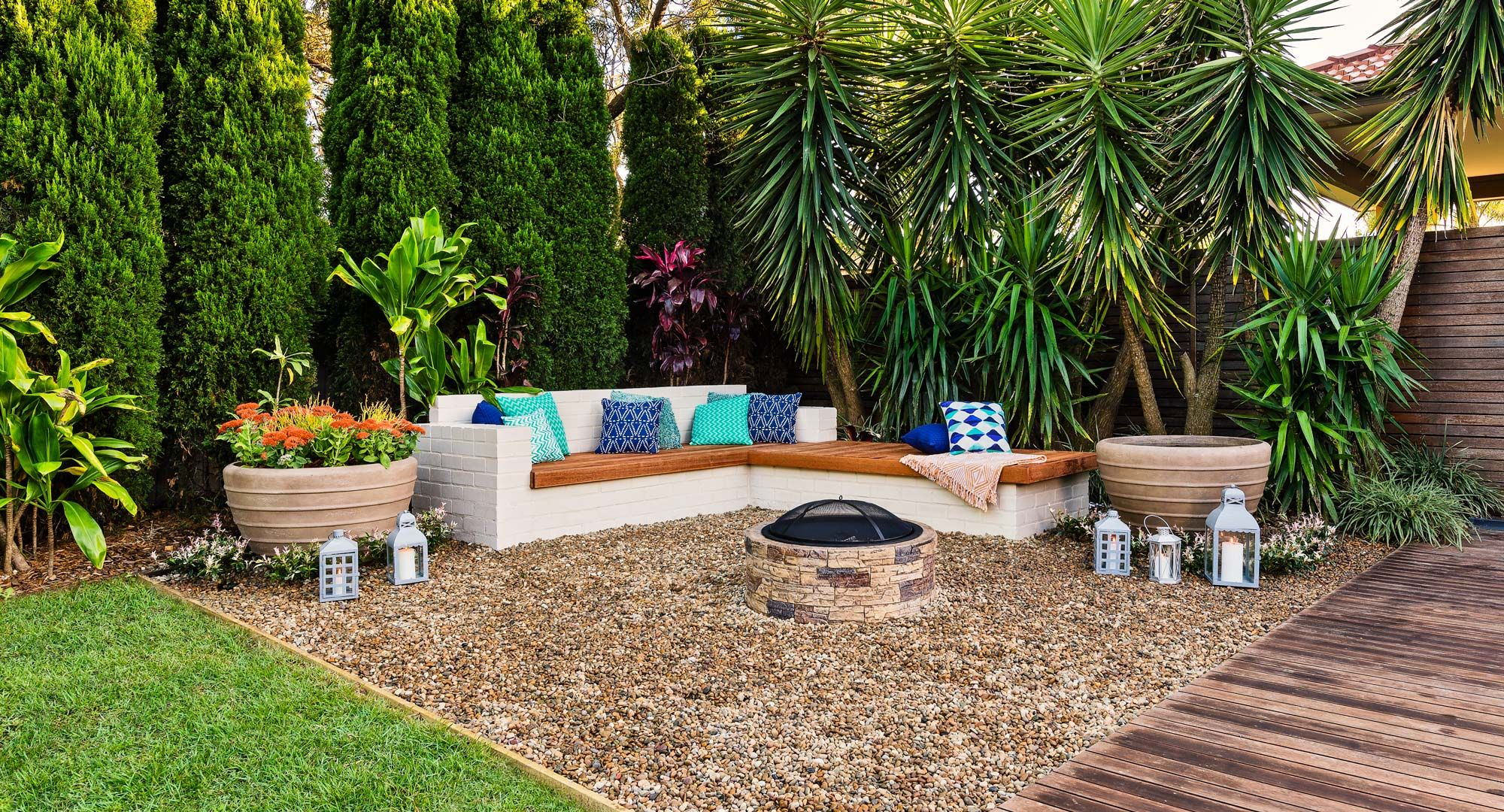 7 Popular Siding Materials To Consider: Image Result For Sunken Seating Fountain