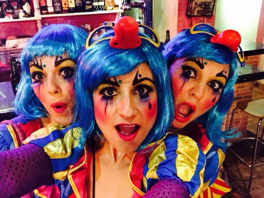 #carnavaldeaguilas #payaso #clown #makeup #maquillaje #centrodeesteticamariajosemoma #carnaval #Águilas #2015