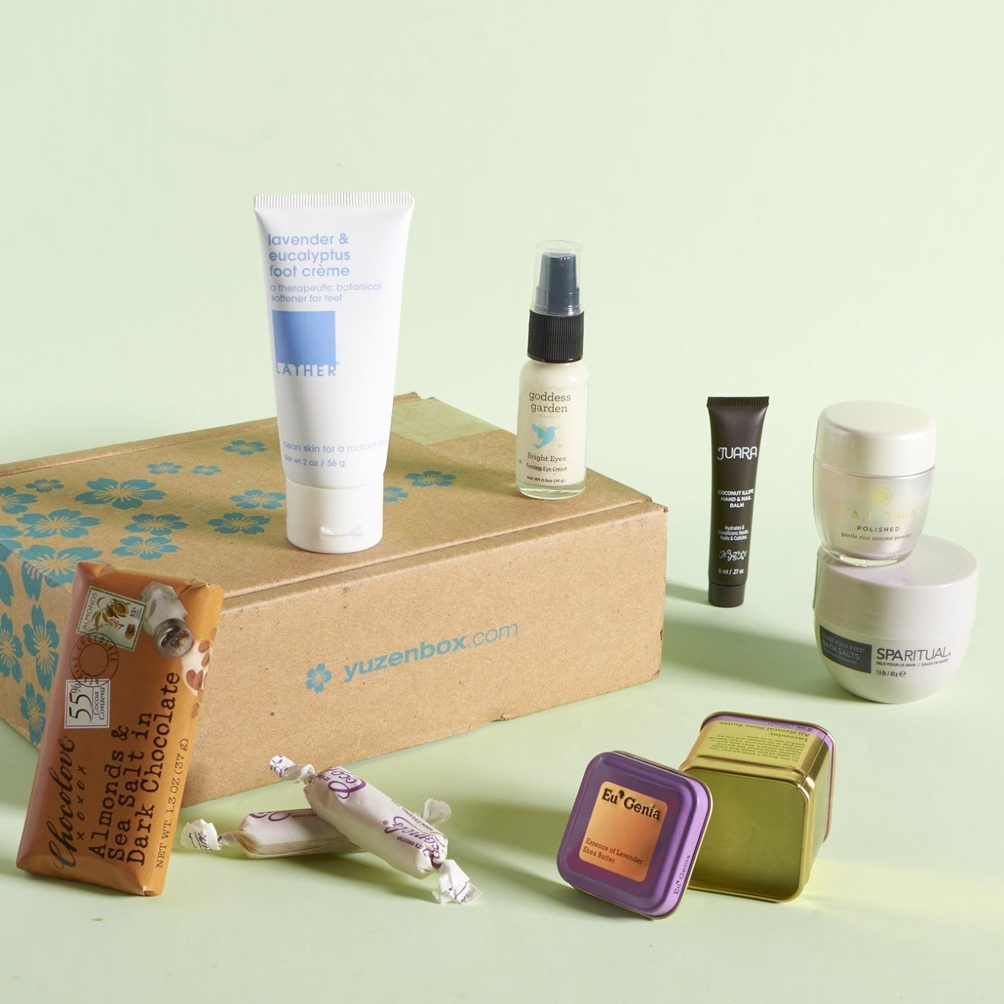 yuzenboxnovember0004 Monthly beauty subscriptions