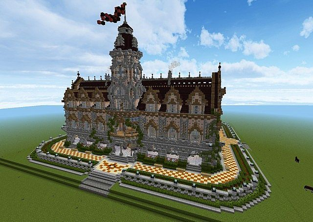 Medieval Town Hall Minecraft Project This Is Slightly More Renaissance But Still Amazes Me At