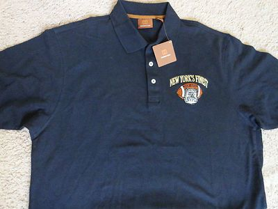 ef74f4a1 New York Police Department Men's NYPD Football Polo Golf Shirt Size XL