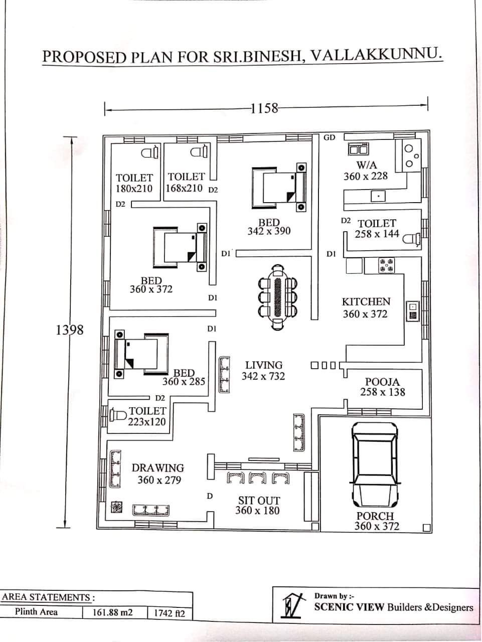Pin By Beeya On Home Plans Budget House Plans Free House Plans
