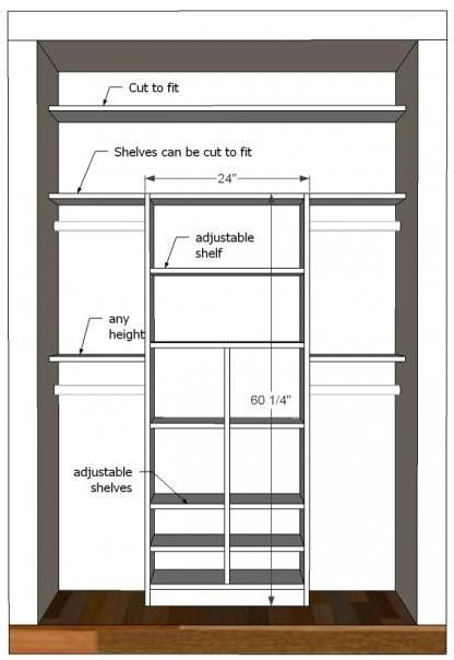 Great Idea For The Master Closet. Just Take Into Account Our New Closet  Measurement. Great Tutorial To Make Your Own Kidu0027s Closet Organizer.