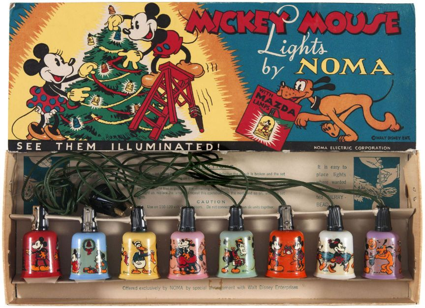 Mickey Mouse NOMA Lights Disney christmas, Vintage