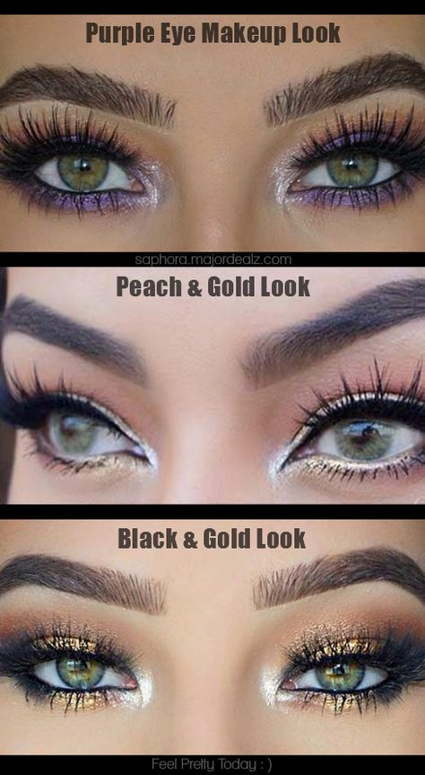 Beautiful Makeup Looks For Green Eyes The Best Step By Step Tutorial And Ideas For Green Eyes Makeup Looks For Green Eyes Makeup For Green Eyes Eye Makeup