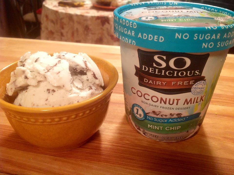 My review of So Delicious Dairy Free Frozen Desserts from last summer. Guess what? It still applies this summer. There is nothing better out there. Nothing.   http://thevword.net/2013/08/product-review-so-delicious-dairy-free-frozen-desserts-and-cashew-milks.html