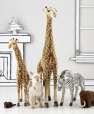 Large Plush Giraffe Land Of Nod Littles Pinterest Giant