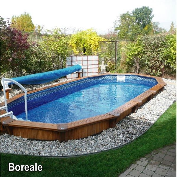 Semi Inground Pools Semi Inground Pools Small Back Yard Havens