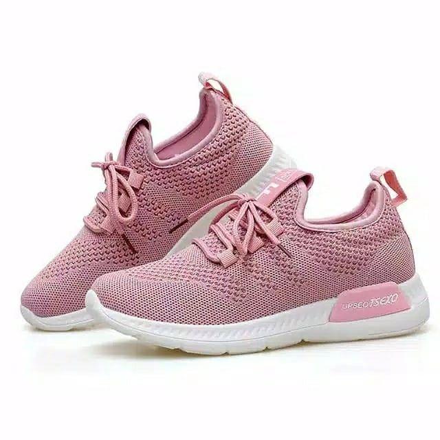 Sepatu Sneakers Wanita Harga Rp 139 000 Size 36 41 Warna Pink