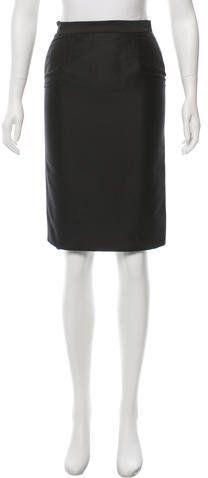 Moschino Cheap & Chic Moschino Cheap and Chic Knee-Length Skirt