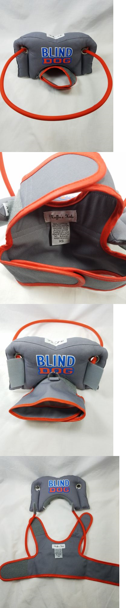 Other Dog Supplies 11286 Muffin S Halo For Blind Dog Grey