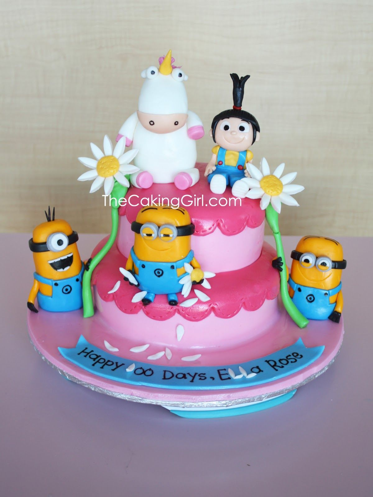 minion cakes for girls Google Search Minions Pinterest