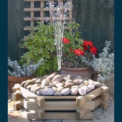 Cheap Idea To Cover Drain · Garden FountainsSmall FountainsWater ...