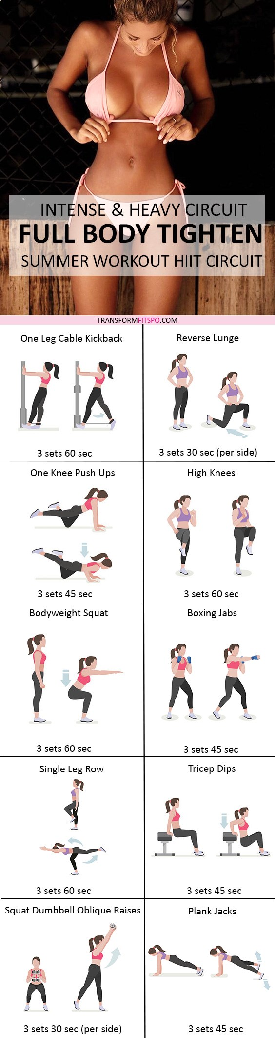 Repin and share if this workout built you a sexy body Read the post