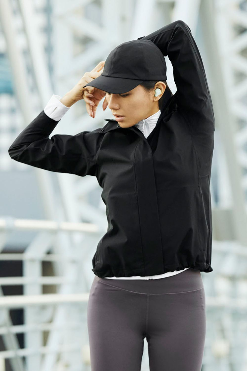 Uniqlo Blocktech Parka In 2021 Womens Activewear Active Wear Athletic Jacket