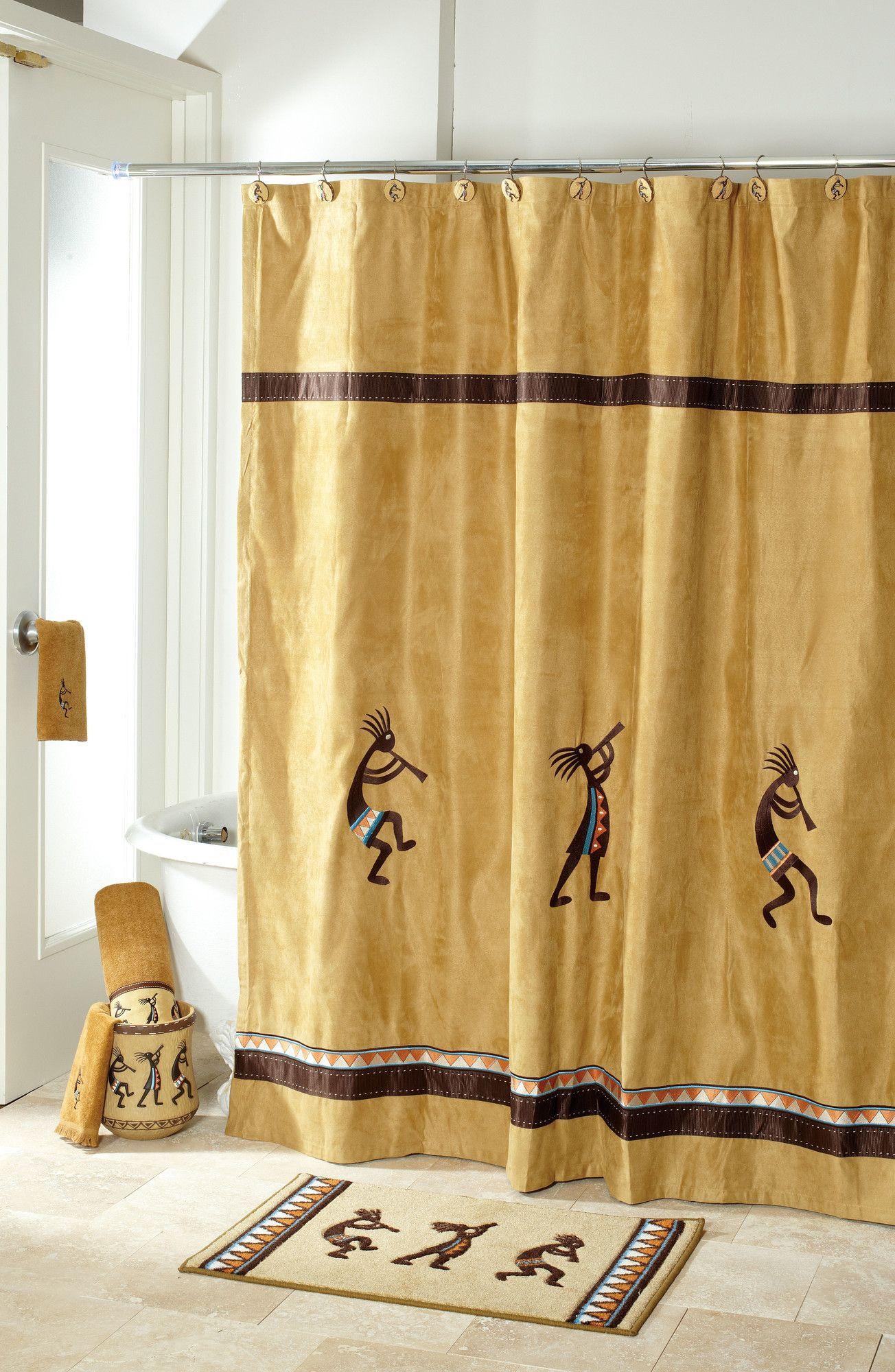 Kokopelli Single Shower Curtain Decoracion De Unas Accesorios Bano Cortinas
