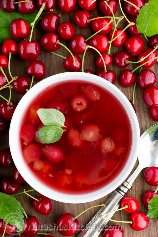 Authentic Cherry Soup (Kissel) Recipe, ,