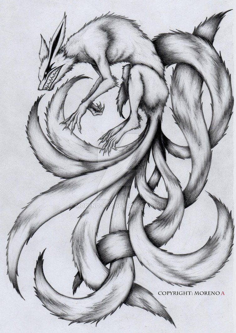 Kyuubi By Moreno A88 Deviantart Com On Deviantart Tattoo Ideas