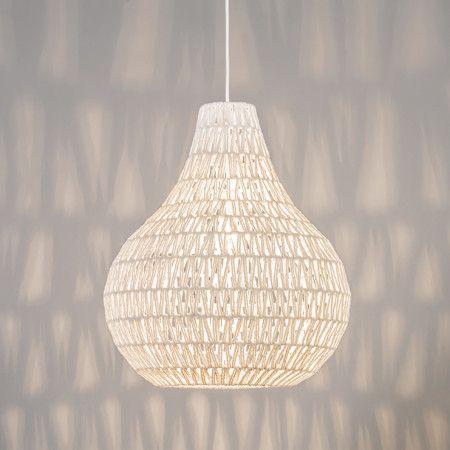 Pendelleuchte Lina Drop 45 Weiss Lampe Esstischlamme Wohnzimmerlampe