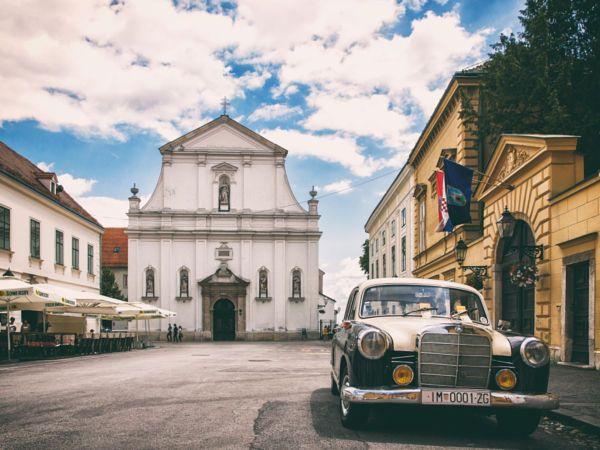 Streets Of Zagreb Zagreb Zagreb Croatia Dubrovnik