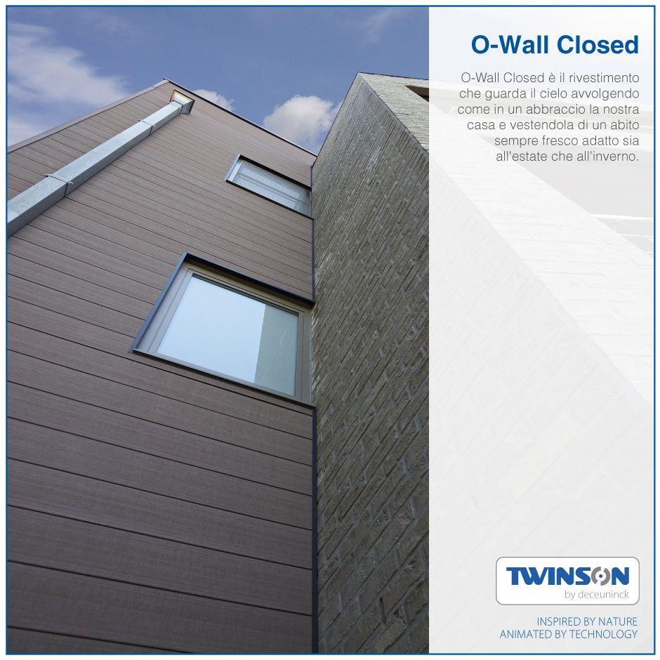 O Wall Closed Il Rivestimento Che Guarda Cielo Avvolgendo Come In Un Abbraccio