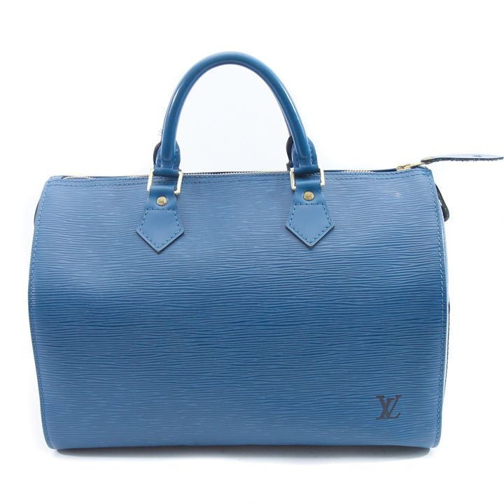 Louis Vuitton Epi Leather Speedy 25 or 30 in Blue