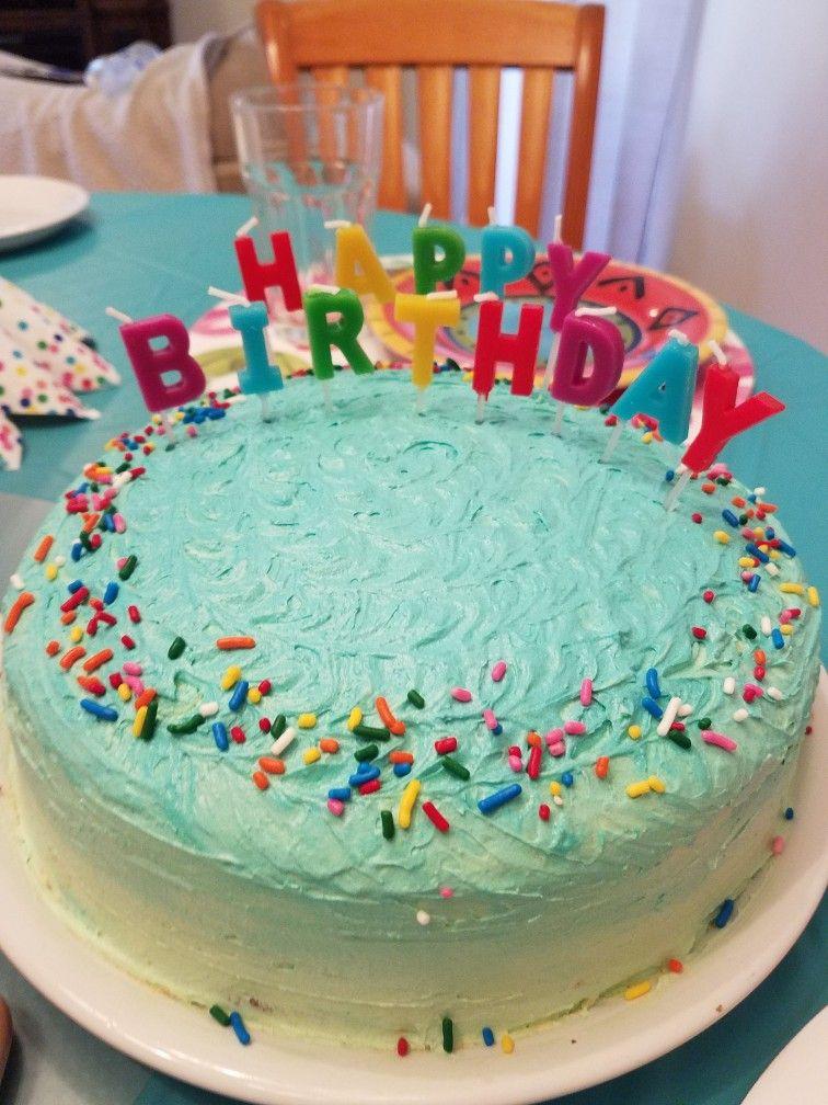 Easy cake decoration for my baby boy 1st birthday! Cake