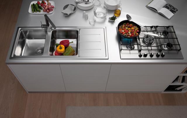 Lavelli da cucina in materiali diversi   cucina   Lavelli ...