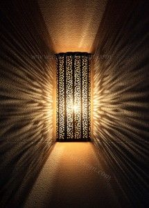 Intricately Designed Brass And Silver Wall Sconce Wl151