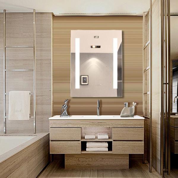 Sasha Alexandra LED Backlit/Lighted Bathroom Mirror 53 x 42\