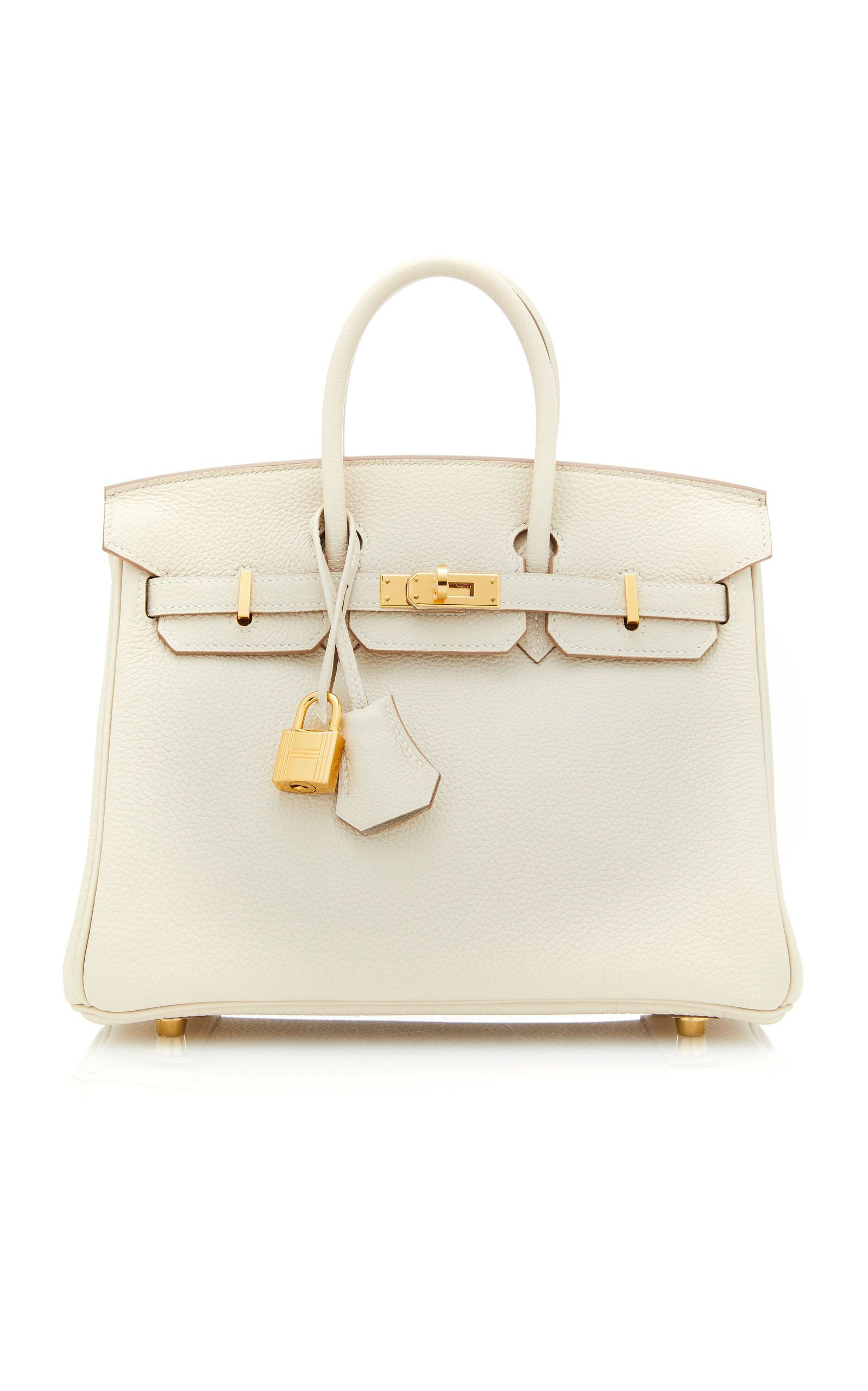 298544aaff25 Hermes 25cm Craie Togo Leather Birkin by HERMÈS VINTAGE BY HERITAGE  AUCTIONS for Preorder on Moda Operandi