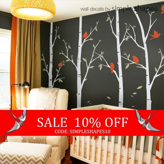 Review By Kara H Turned Out Looking Really Pretty They Were - How to put up a tree wall decal