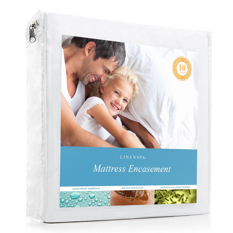 Encasement Hypoallergenic Waterproof Mattress Cover Dust