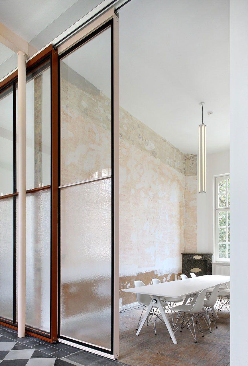 Famous agency by architecten de vylder vinck taillieu work space