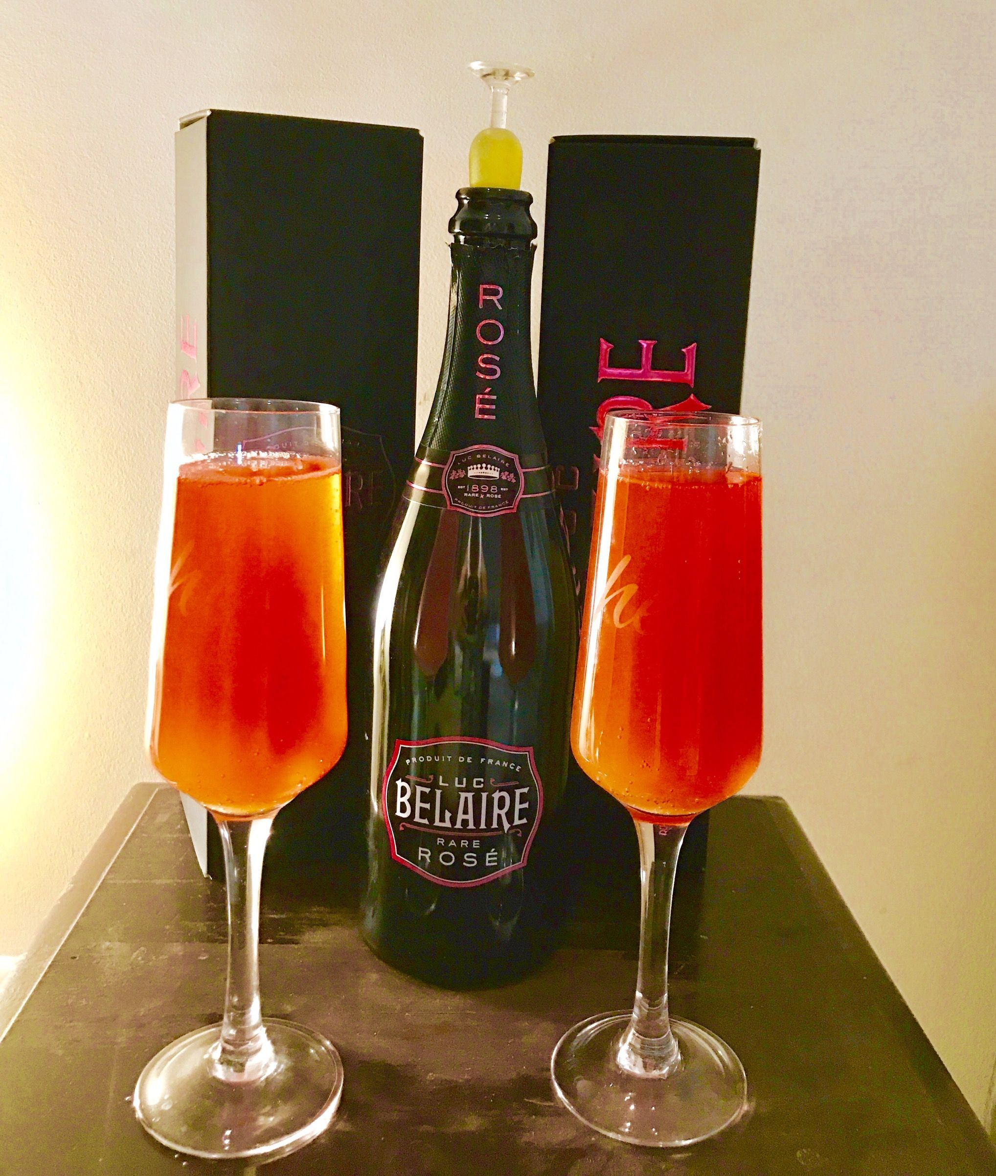 Belaire Rose Mimosa Add Orange Juice To The Chilled Sparkling Wine Rose Recipes Champagne Recipes Cocktails Champagne Recipe