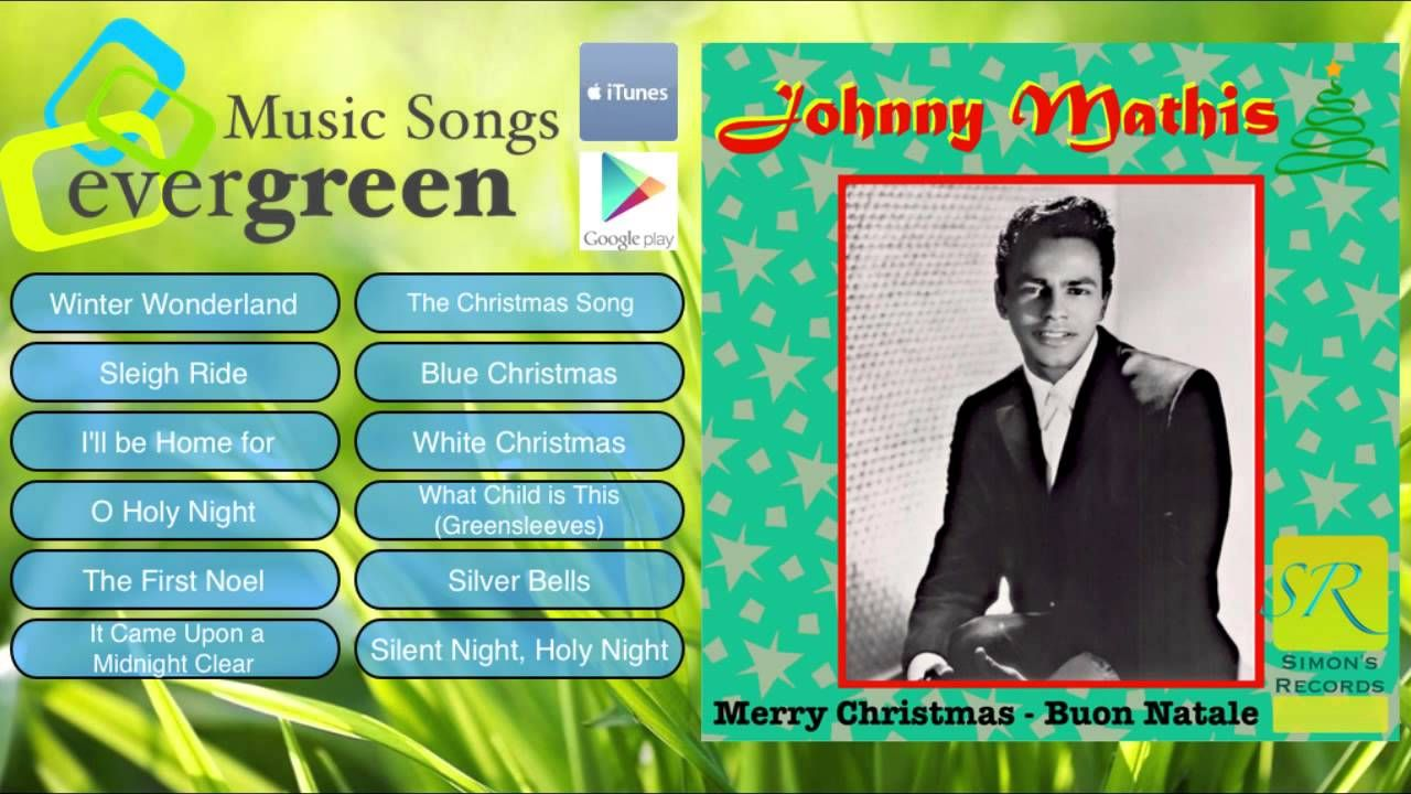 Johnny Mathis Merry Christmas Buon Natale Remastered Full Album ...