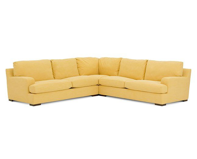 Sunrise 3 Pc Sectional Furniture Row Rowe Furniture