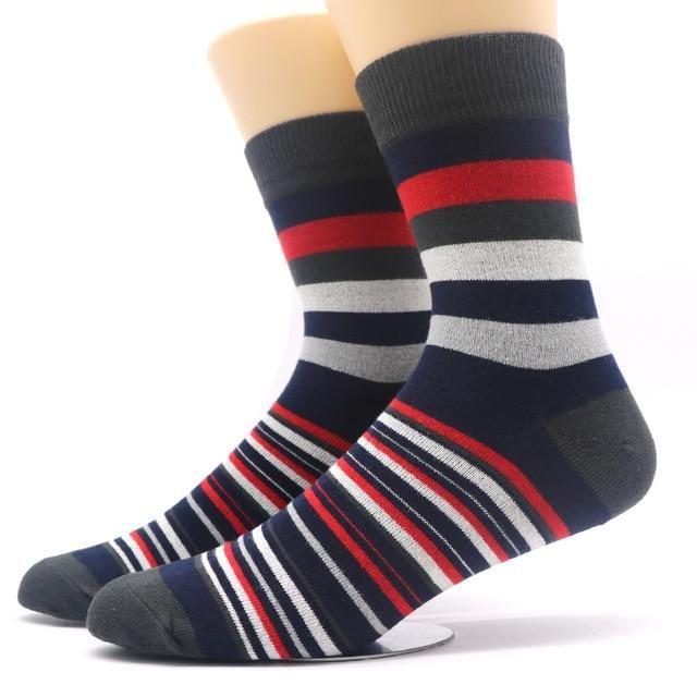 the best super cheap fast delivery 1pair Men's Funny Socks Gradient Color Cotton Socks Art ...