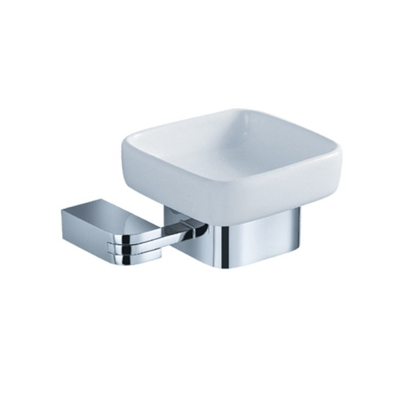 Chrome Soap Dish  Solido Httpswwwstudio9Furniture Stunning Chrome Bathroom Accessories Design Ideas