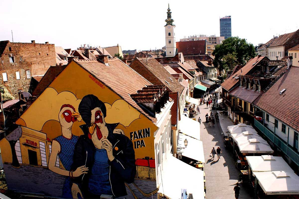 Zagreb Street Murals Discover Art That Makes The City Alive Street Mural Street Artists Zagreb
