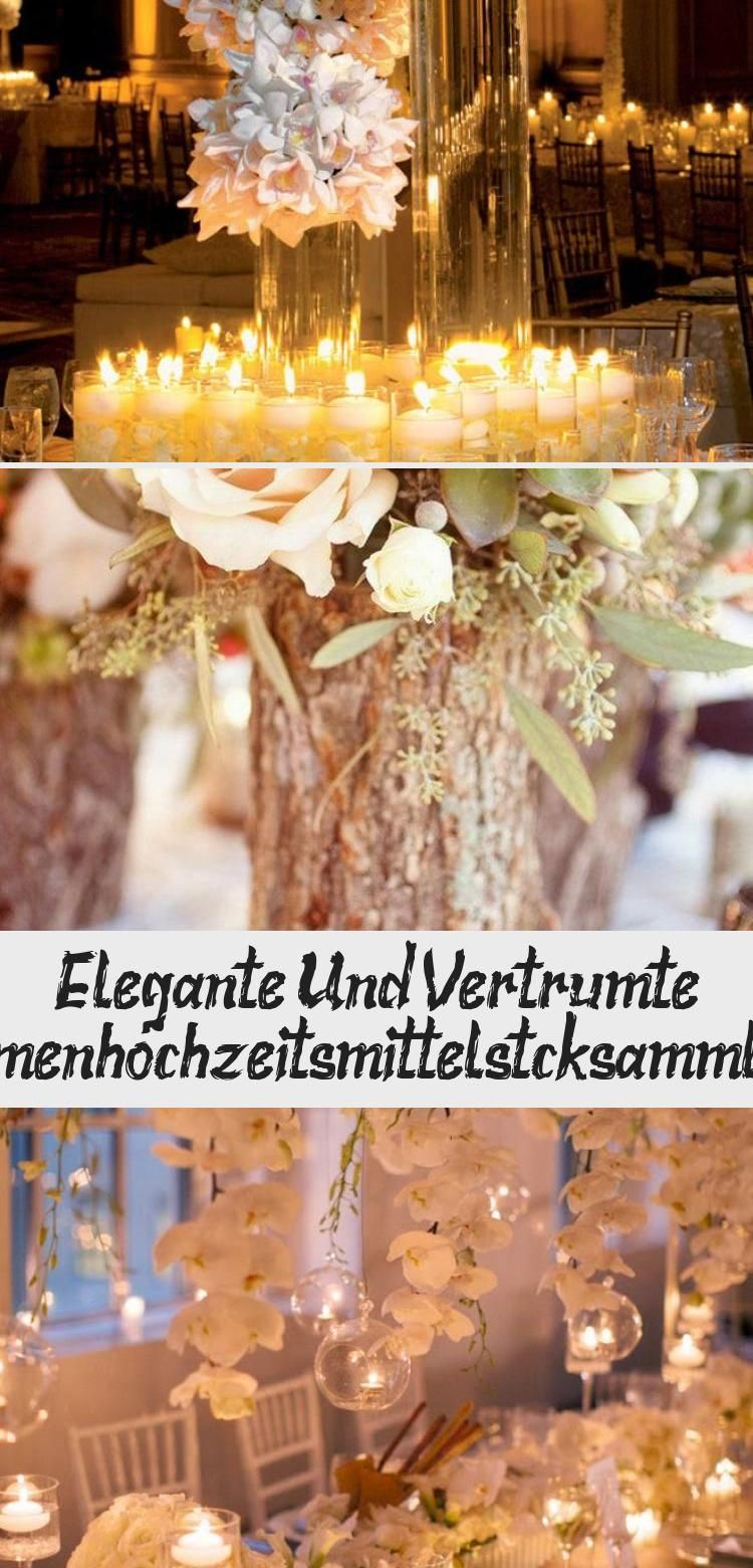 Photo of Elegant and dreamy floral wedding centerpiece collection