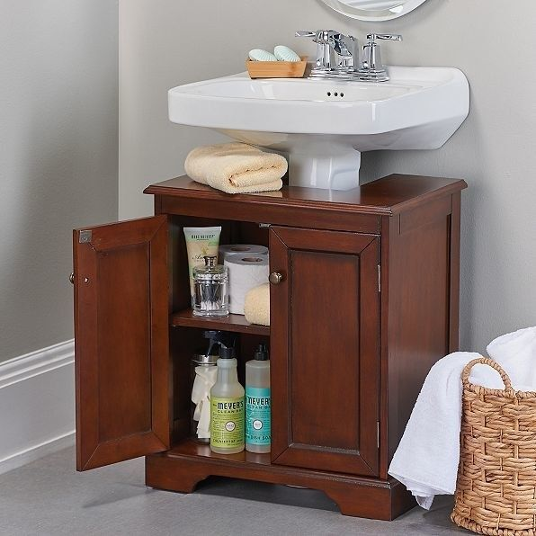 Find A Happy Medium Between A Pedestal Sink And Vanity By Fitting