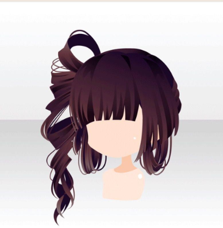 dark brown - long hair drawings