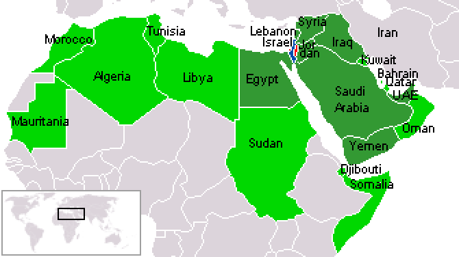 Map showing 22 member countries of arab league what is part of arab map showing 22 member countries of arab league what is part of arab muslim world gumiabroncs Choice Image