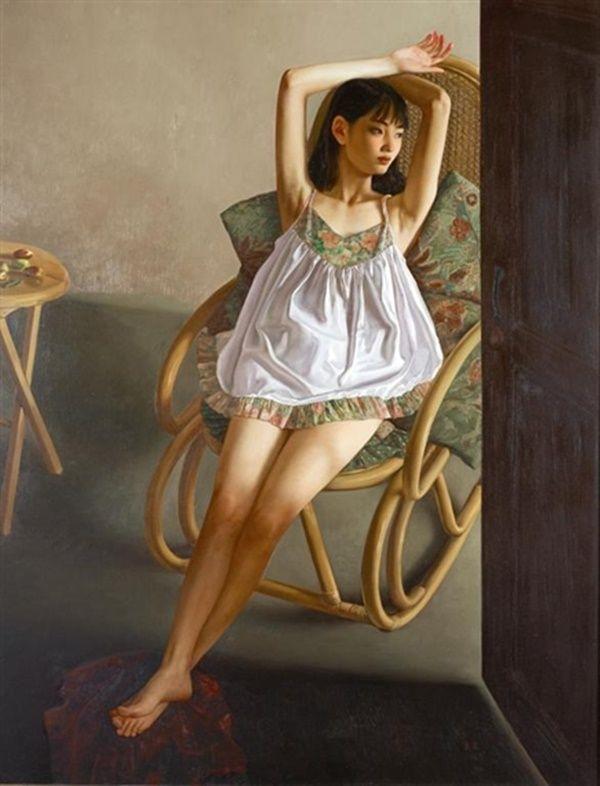 ~ Li Guijun ~ | Retratos, Telas, Arte