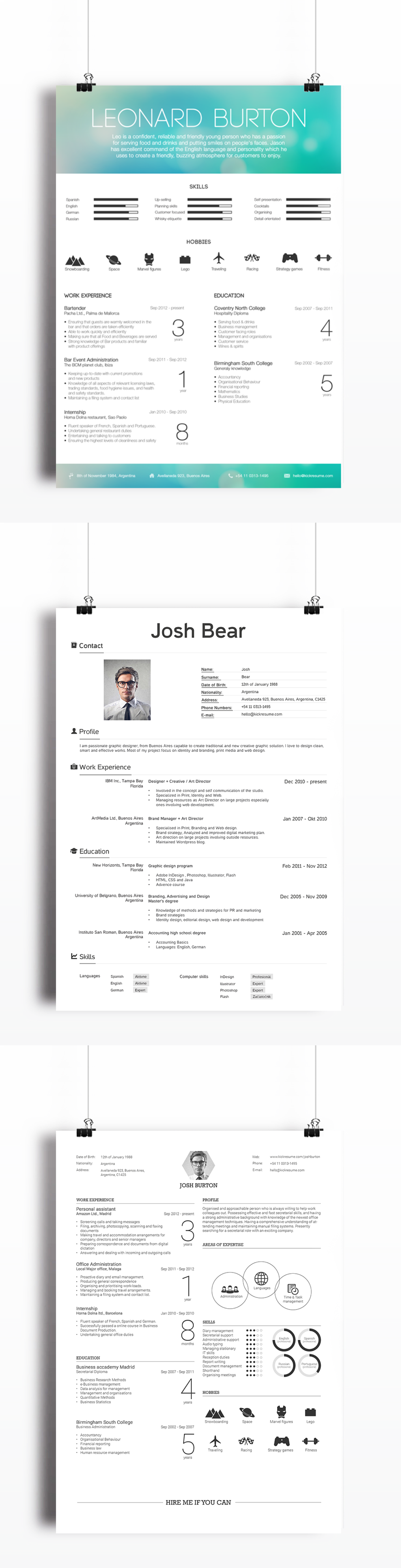 create perfect resumes