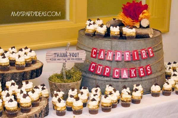 Camping Themed Blue and Gold Banquet - Yahoo Image Search ...