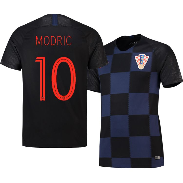 size 40 f2af4 487b6 Croatia Luka Modric World Cup 2018 Away Soccer Jersey New ...