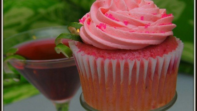 Cocktail Flavored Cupcakes ❣
