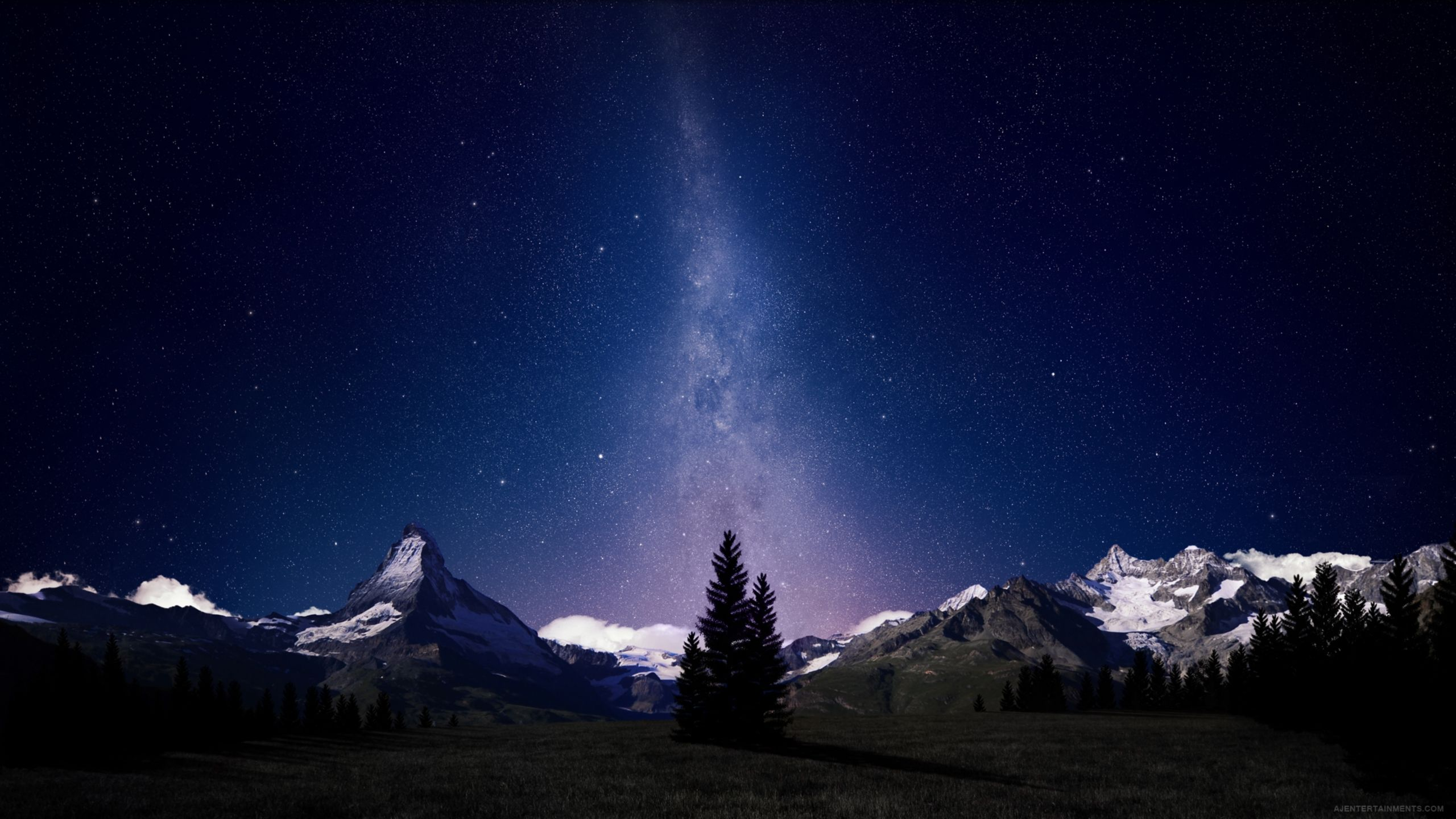 Himalayas At Night Night Sky Wallpaper Beautiful Night Sky Starry Night Background
